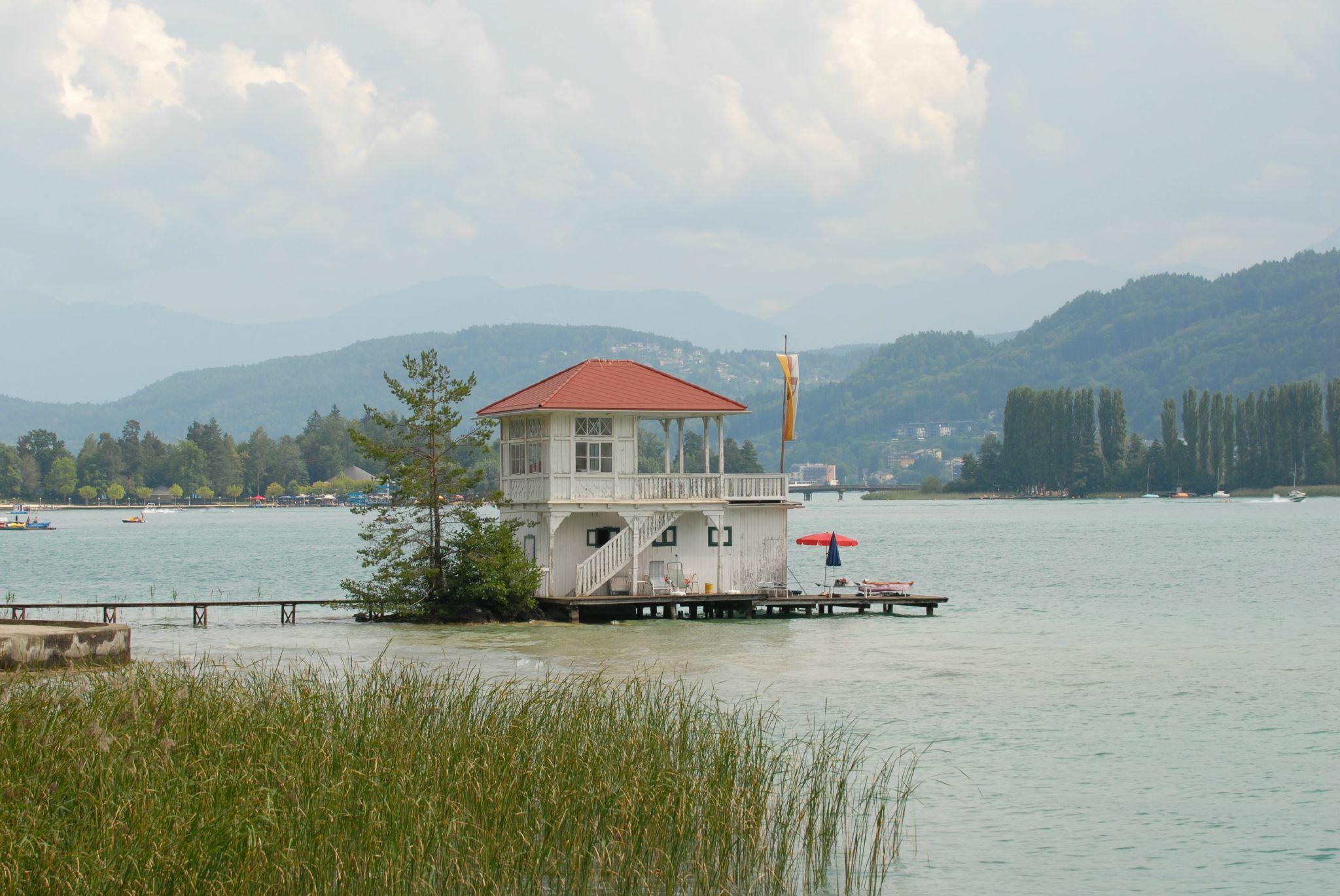 Lac de Worthëse en Autriche