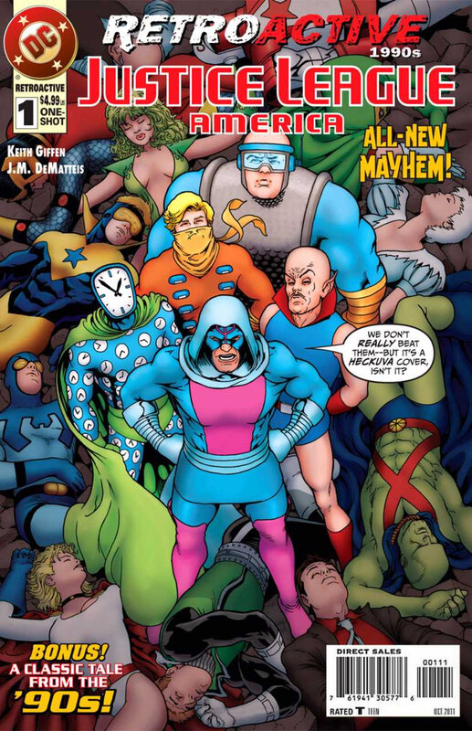 DC retroactive JLA 1990's