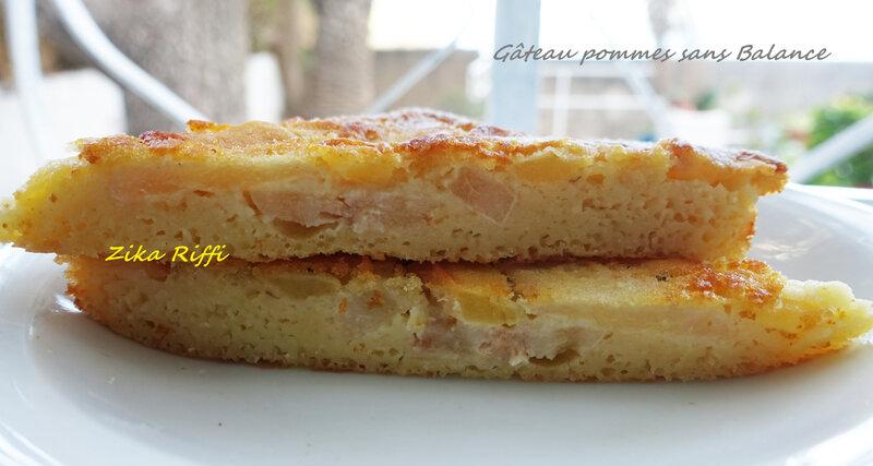 gâteau pommes sans balance4