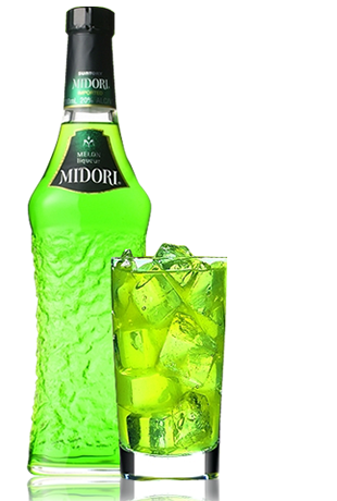 Midori_on_the_rocks