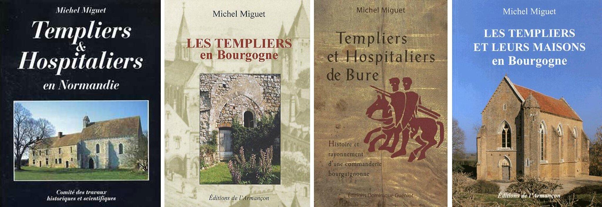 MICHEL MIGUET, Docteur en Archéologie, spécialiste des implantations des ordres du Temple...