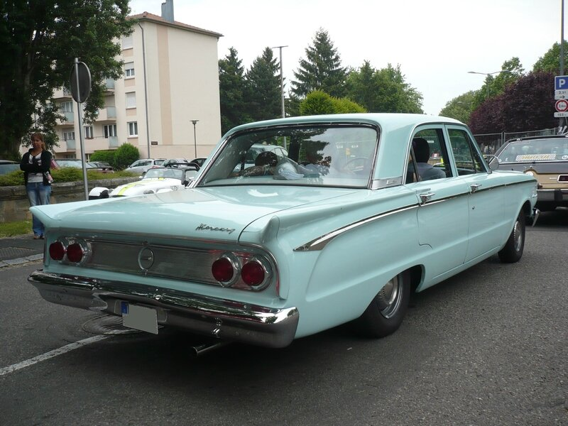 MERCURY Comet 4door Sedan 1962 Illzach (2)