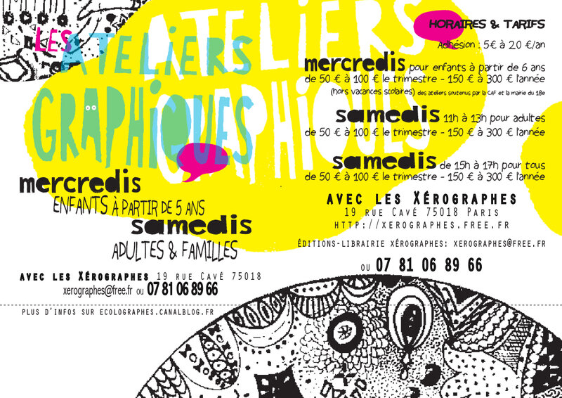 AFFICHES ATELieRS _ 2018-2019
