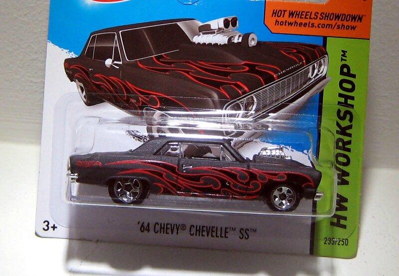 Chevrolet chevelle SS de 1964 (Hotwheels 2014)
