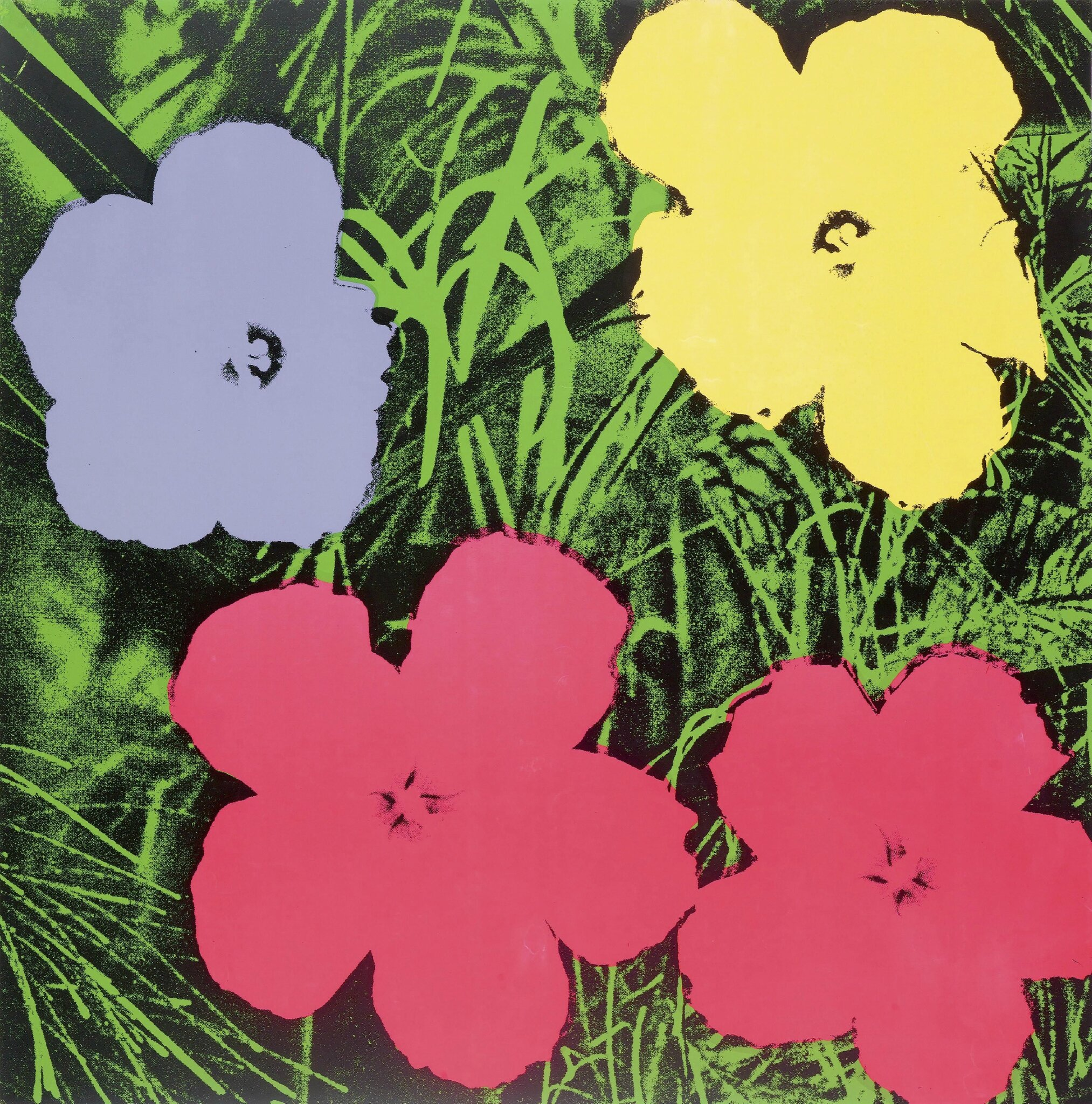 The Best Of Art Luxury Markets Offered At Koller Alainrtruong Andy Warhol Dance Diagram 1961 Pittsburgh 1928 1987 New York Flowers 1970 Colour Screenprint 157 250 Signed On Reverse Also With Stamped Number
