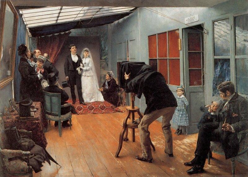 Dagnan-Bouveret-Une-Noce-chez-le-photographe 1879 MBA LYON