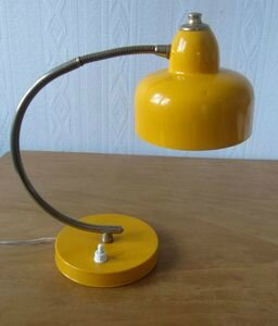 lampe jaune