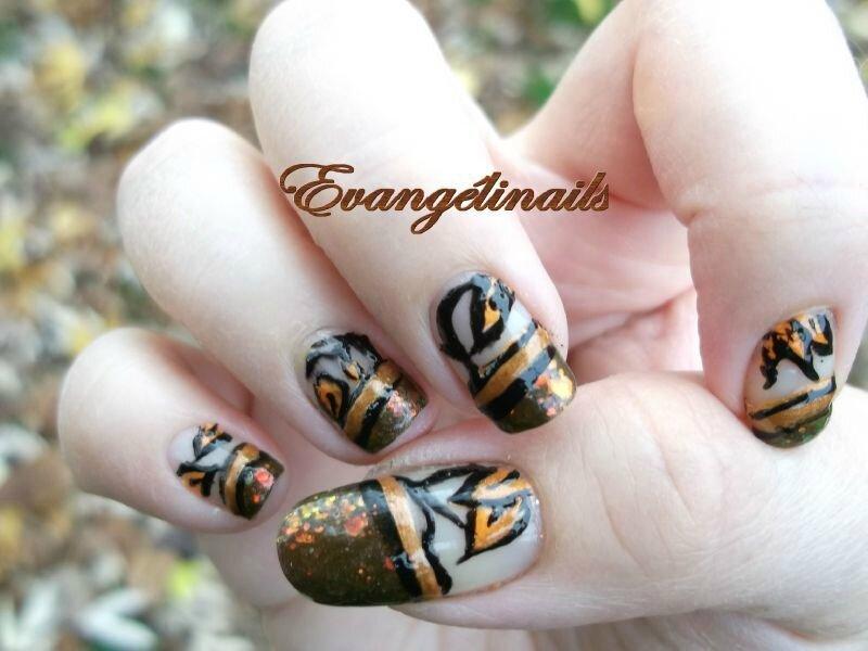nail art automne
