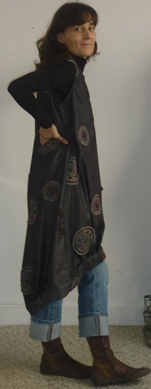 tunique boule version longue et imprimé