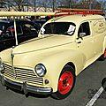 Peugeot 203 fourgonnette tôlée 1954-1959