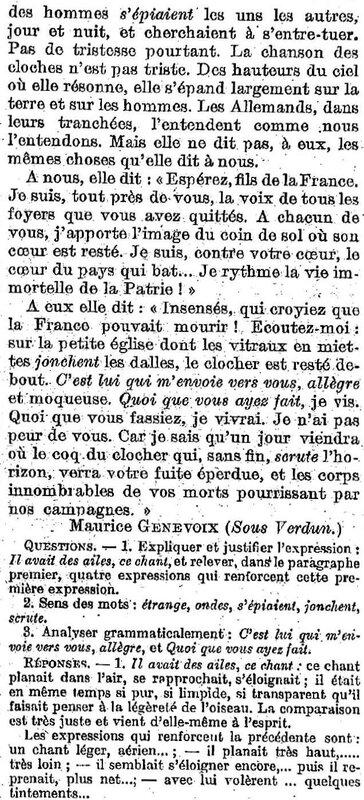 Cloches de France 1917-2
