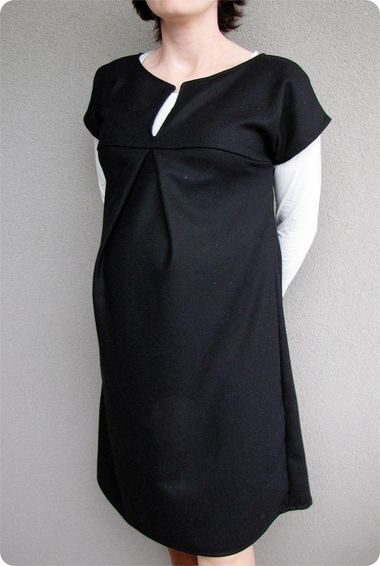 Patron robe femme enceinte facile