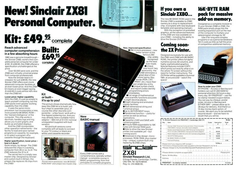 SinclairZX81ad