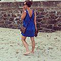 Lucie on the beach