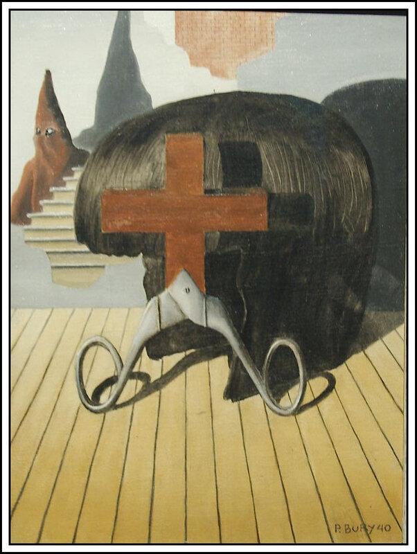 Pol Bury - la fin du christianisme - 1940