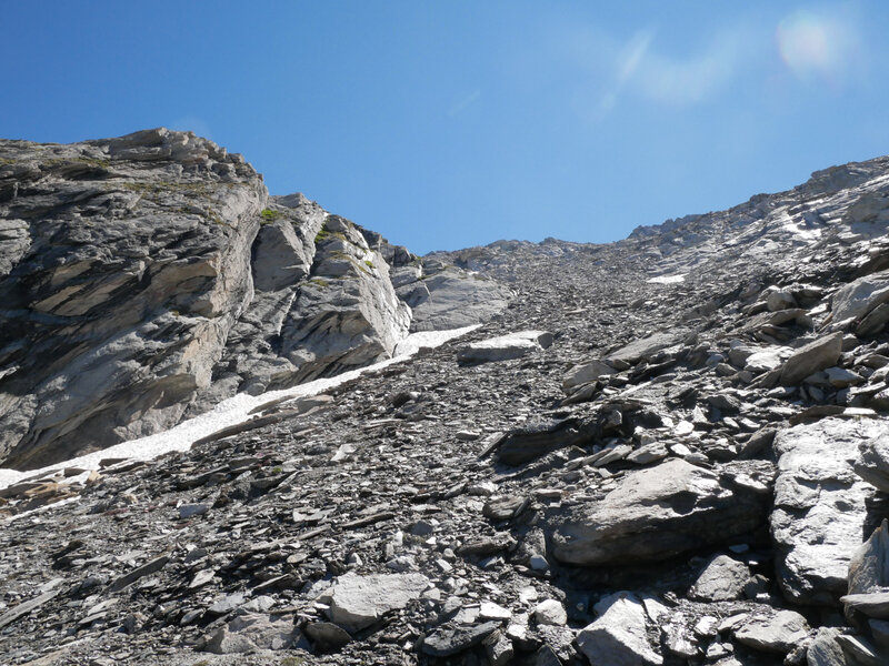 vers Le Col du Ravin Noir