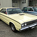 Dodge coronet r/t hardtop coupe-1967