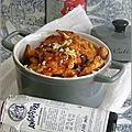 Fines tranches de poulet grillees au citron & au bitter angostura
