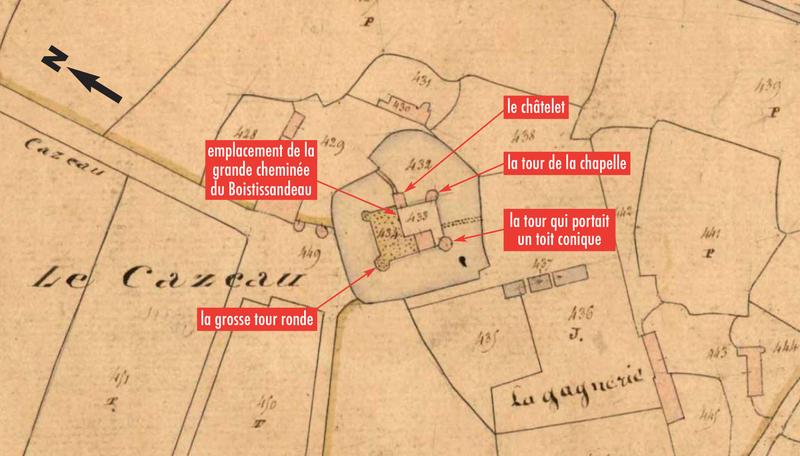 Cadastre Cazeau