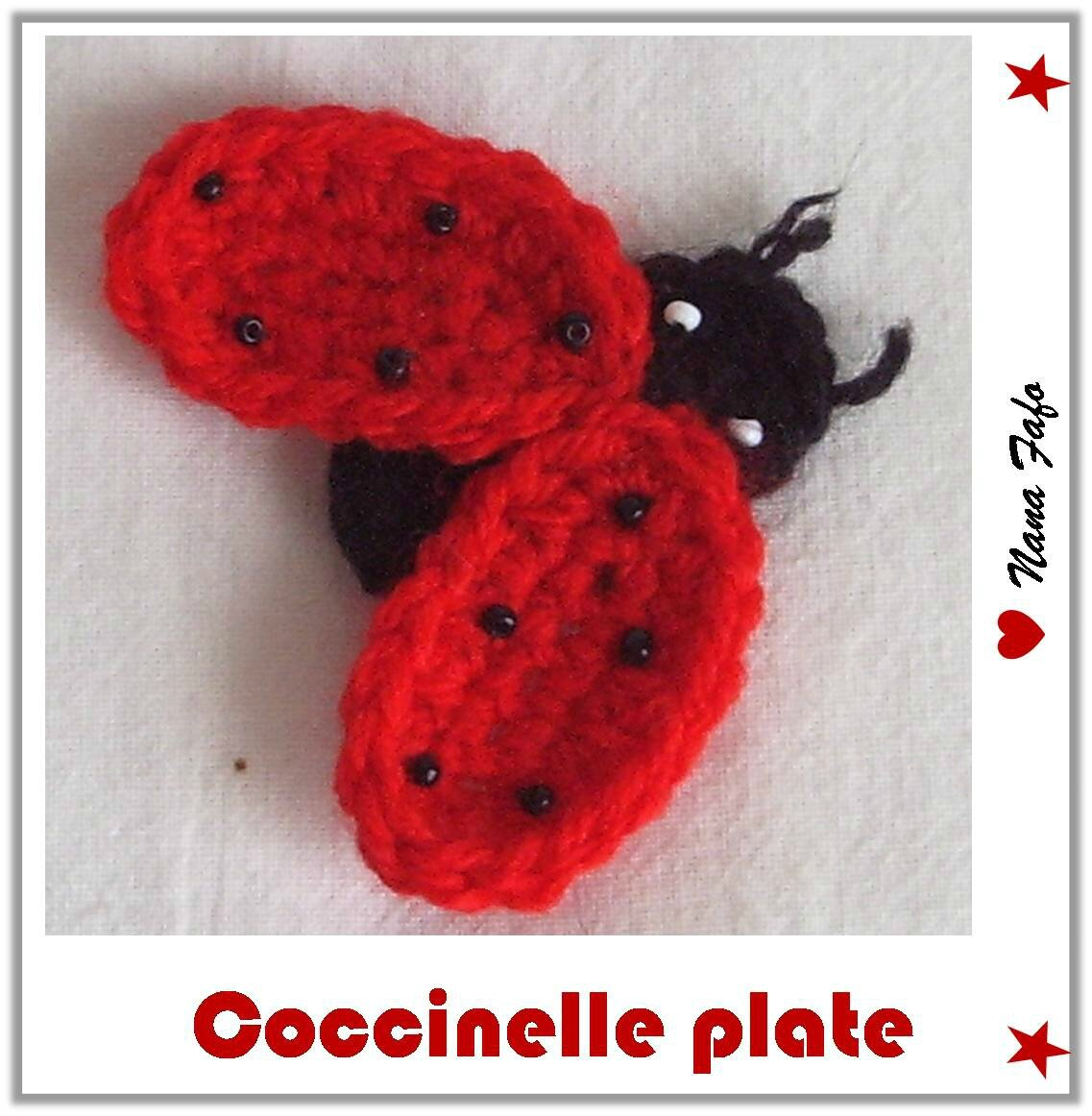 coccinelle plate