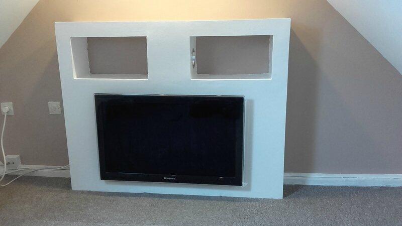 Meuble tv placo