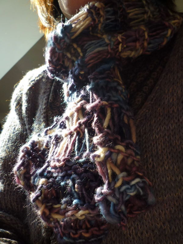 Echarpe Manos #classical wool