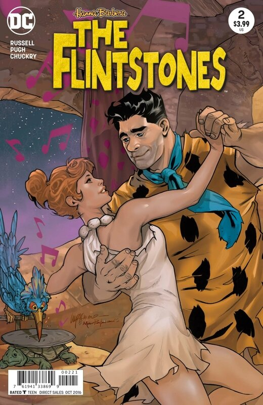 the flinstones 02 lupacchino variant