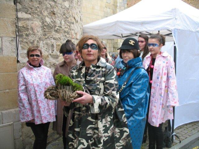 2015 - avril - 5 (samedi) - Défilé FEMMES EN CIRES au salon Jardins d'Artistes de TOUQUES (68)