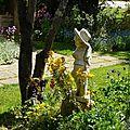 Promenade au jardin de campagne
