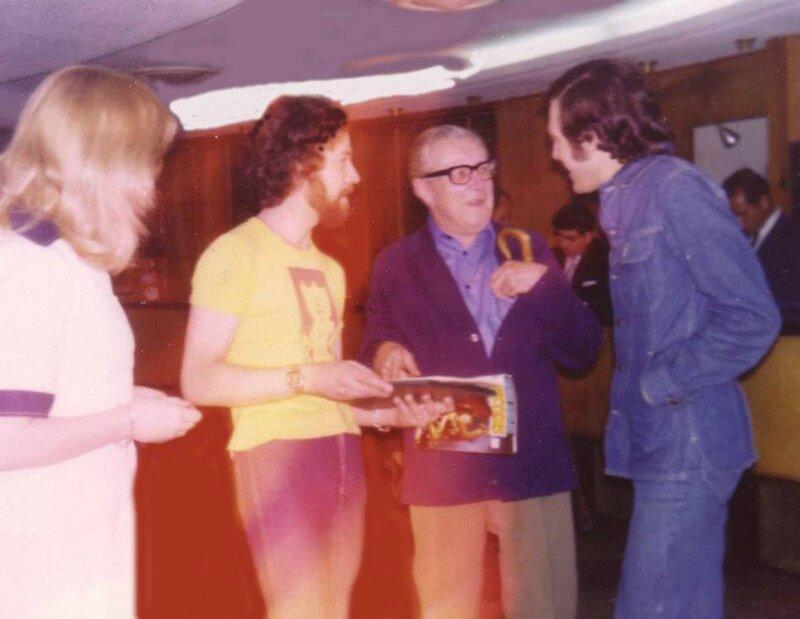 Petit, Fisher et JPB (Sitges 1976)