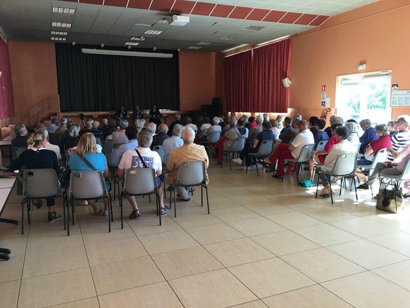 élections législatives juin 2017 Manche débat Granville Bertrand Sorre REM Nicolas Ferreira DVG Laurent Joffrin Libération public salle Saint-Nicolas