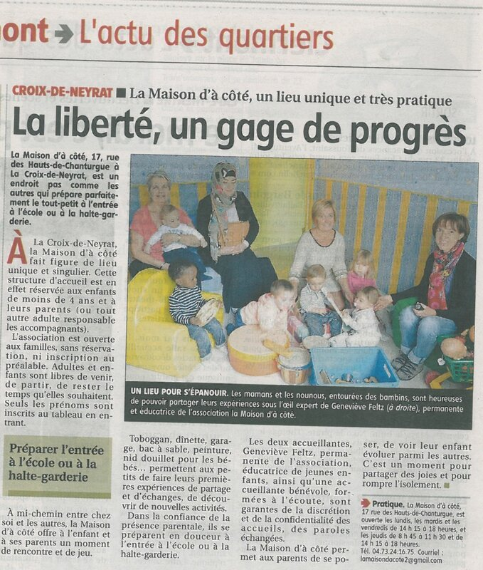 article la Montagne 2015