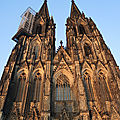 Cologne, cathédrale, façade