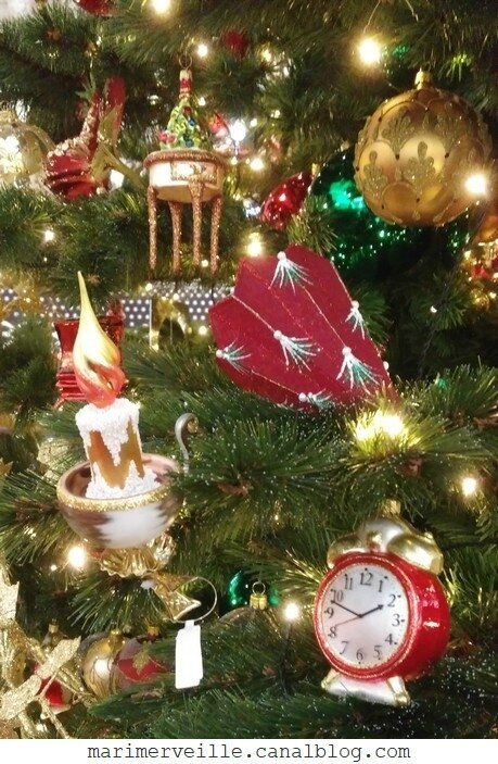 Décoration arbre de Noël chateau enchanté7 - marimerveille
