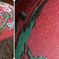 Repose pieds vintage - détails vintage