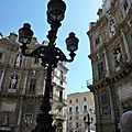 Palerme : Quattro canti (4 façades)