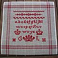 Canevas Bristol Orphanage Sampler