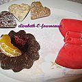 Petits desserts goumands