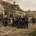 Le Dru (Albert-Ferdinand), le repos des soldats