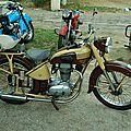 40 rassemblement de vieilles motos à Sommières