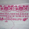 Re (3) rose sampler d'ems