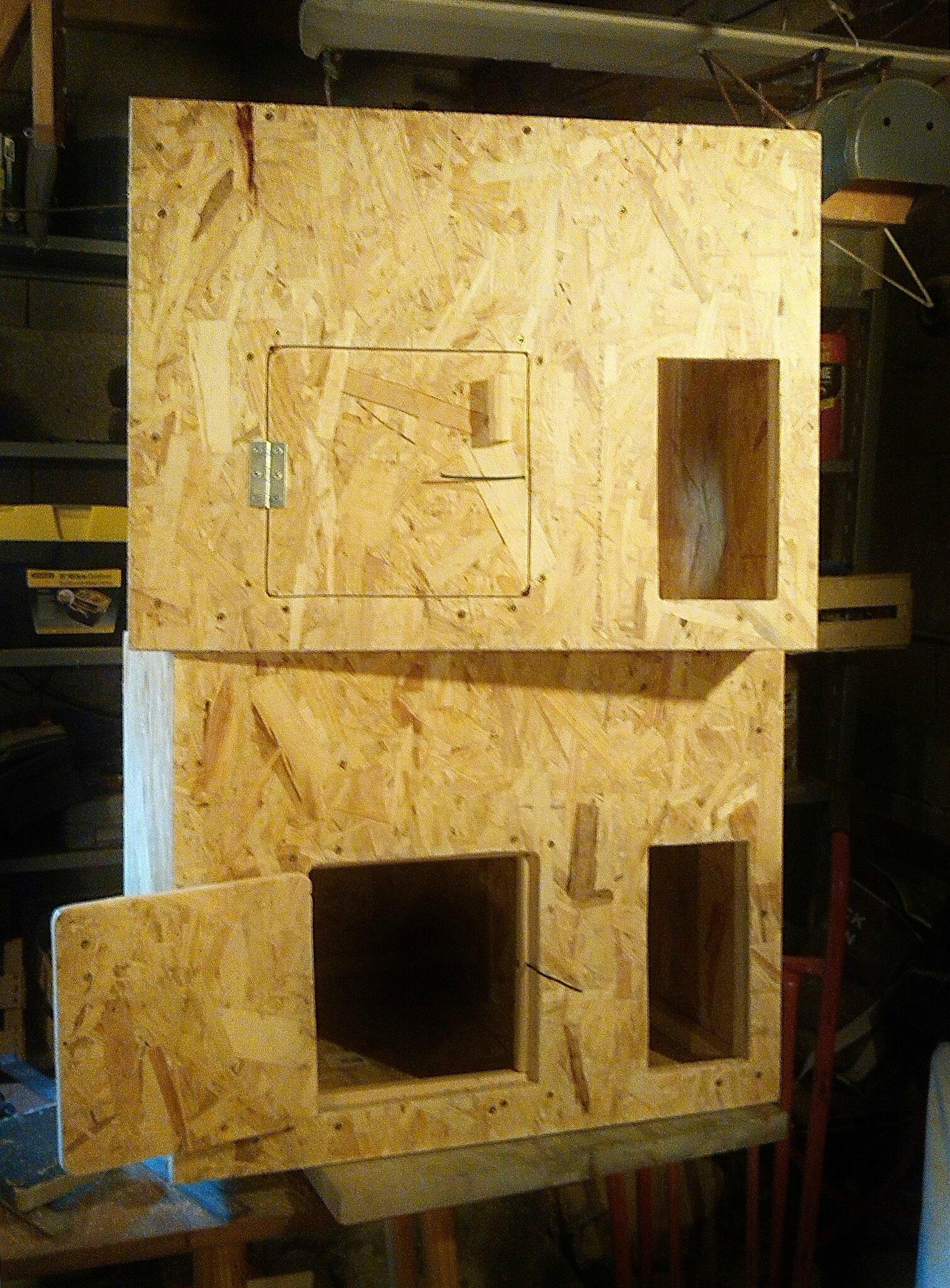 Les nichoirs à Effraie des clochers Plumes & bois pour l'AAPOPG sont en fabrication !