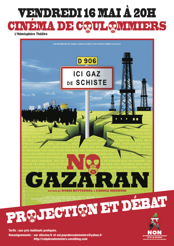 15- Affiche couleur projection de No Gazaran