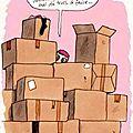 La maison en pain d'épices déménage....