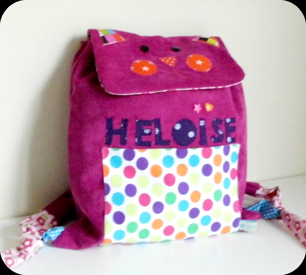 Le sac à dos Chat d'Héloïse