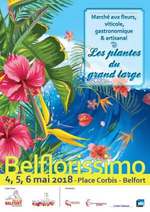 Affiche Belflorissimo 2018
