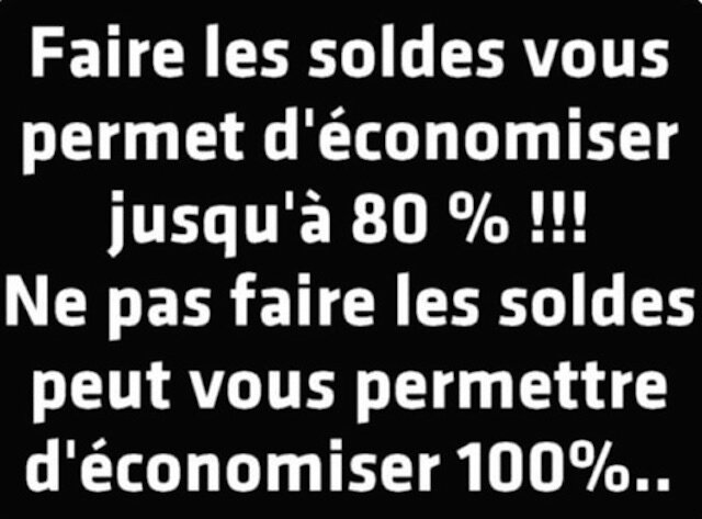 humour soldes