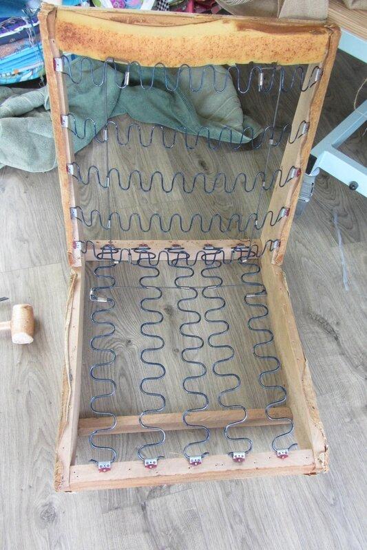 tapissier côté sièges