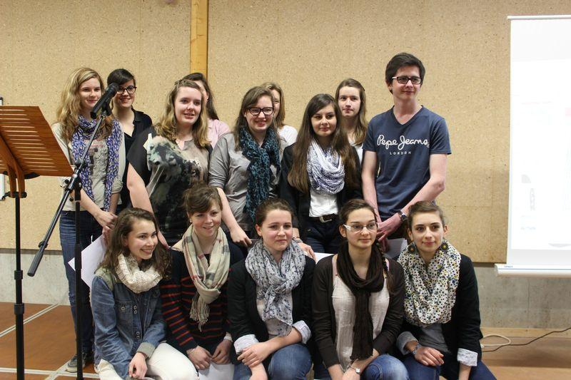 concours de plaidoiries lycéennes 2013 pour les droits de l'Homme au lycée Littré à Avranches - vidéo des exposés et résultats