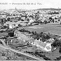 Pâturages - panorama Cul du Q'Veau - carte postale